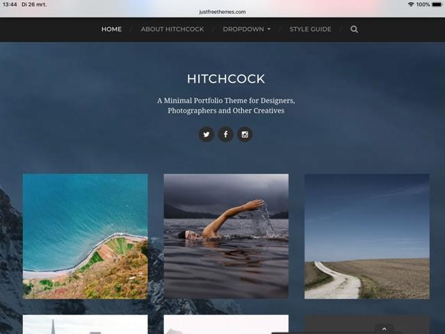 portfolio voorbeeld web