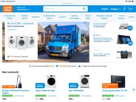 webwinkel voorbeeld web